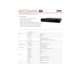 ADV Analog-HD 1.3MP 4CH Package