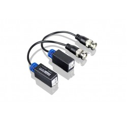 HD CCTV Video Balun, AHD, HD-TVI, HD-CVI, 1 Passive Pair