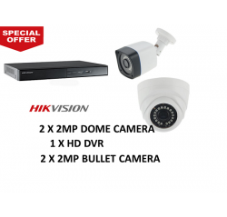 Hikvision 1080P 4Units+4Ch Package