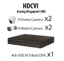 1200Series 1080P HD-CVI 4Ch  Package
