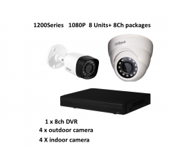 1200Series (Dahua) 1080P HD-CVI 8Ch Package