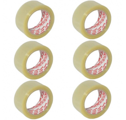 OPP Tape Transparent 48mm (6pcs in 1 Roll)